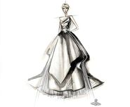 Wedding dress artwork by Vivienne Westwood