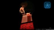 Acupuncture spied through a keyhole in Honeybee Inn from FFVII Remake