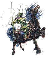 Amano Death Rider FFII (color)