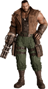 Barret Wallace from FFVII Remake promo render.png