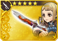 DFFOO Platinum Dagger (XII)