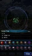 FFBE Human Trap Analyze