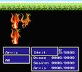 FFIII NES HellFire