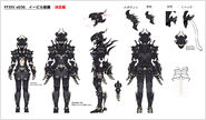 FFXIV Dark Knight Gear Concept