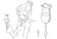 Herba drink sketch for Final Fantasy Unlimited