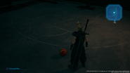 Basketball in Upper Sector 7 from FFVII Remake