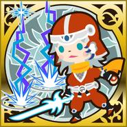 FFAB White Fang - Warrior of Light Legend SR+
