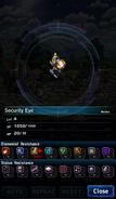 FFBE Security Eye Analyze