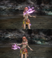 FFXIII Vanille Victory Pose