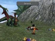 FFIX Garnet Defend