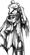 Yuffie Kisaragi moogle disguise from FFVII Remake Intermission concept art