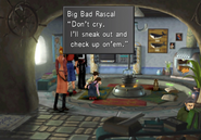 Big Bad Rascal promises to help hotel owners daughter from FFVIII R