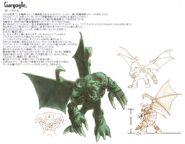 Gargoyle FFIX Art
