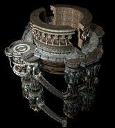 Alexandria Castle Tower CG Art Rowell 2