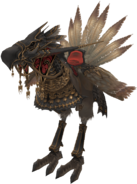FF12 - Armored Chocobo (Black)