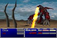 FFVII Ruby Flame