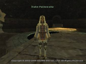 FFXI Sybil Guard Vahn Paineesha