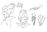 Herba details concept for Final Fantasy Unlimited