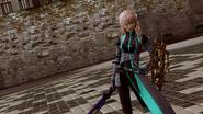 LRFFXIII Cyber Jumpsuit Victory Pose