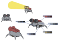 Tyrant's projector bug palette concept for Final Fantasy Unlimited