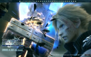 Wallpaper Cloud v Sephiroth Advent Children Complete