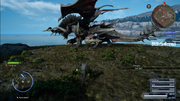 Dread Behemoth at Cape Caem Timed Quest in FFXV.png