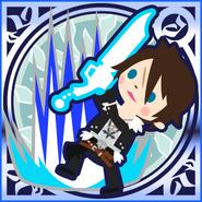 FFAB Rough Divide - Squall Legend SSR+