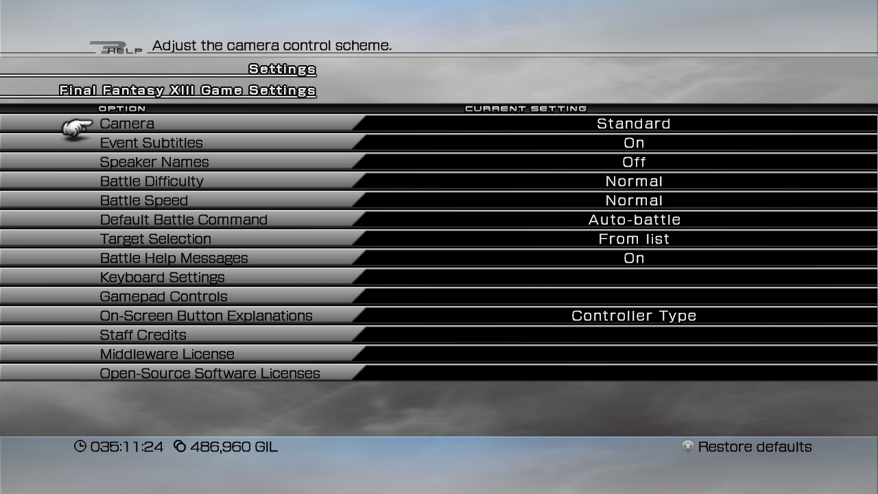 Final Fantasy XIII version differences