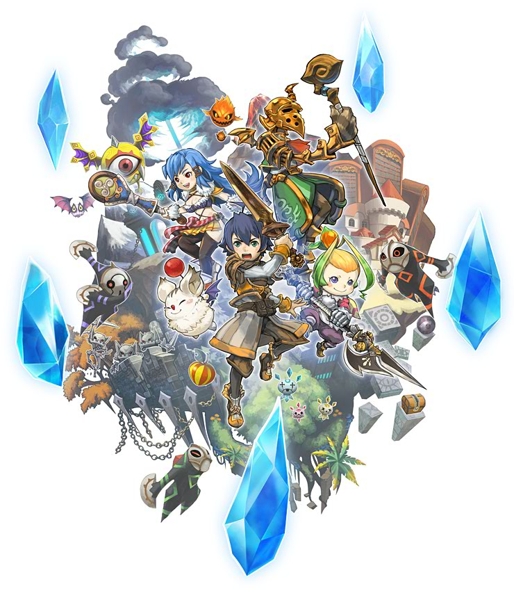 Final Fantasy Crystal Chronicles: Echoes of Time concept art