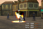 G-Soldier uses Fire in FFVIII R