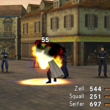 G-Soldier uses Fire in FFVIII R.png