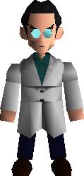 Модель Ходжо во флешбэке в Final Fantasy VII.