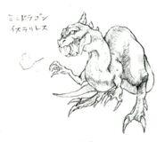 Mini Dragon FFV Art