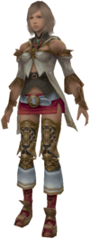 Character model from Final Fantasy XII.