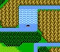 FFIII NES Waterfall