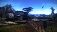 FFXIII-2 Archylte Steppe - Nomad Camp