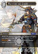 Warrior of Light 2-145L from FFTCG Opus