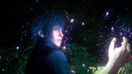 Final Fantasy XV Noctis Red Eye With Unknown Power