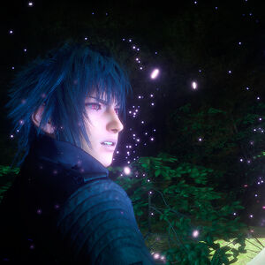 Final Fantasy XV Noctis Red Eye With Unknown Power.jpg