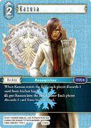 Kazusa 3-026C from FFTCG Opus