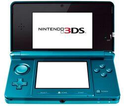 Nintendo 3DS.