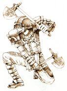 Warrior FFXI Ikeda Art