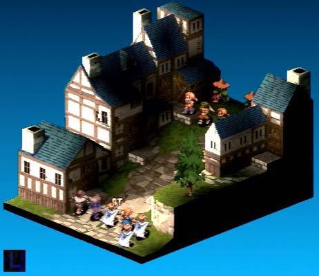 Final Fantasy Tactics/Catuse/Ovelia Chase