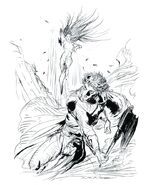FFII Novelisation Amano Illustration 1