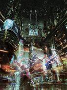 FFXIII-2 AP CG Poster
