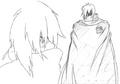 Kaze sketch 4 for Final Fantasy Unlimited