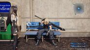 Bench from FFVII Remake