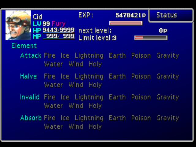 Final Fantasy VII elements