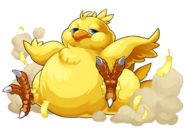 PAD Fat Chocobo artwork