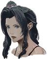 Emerald Tiara Aerith artwork for Final Fantasy VII Remake